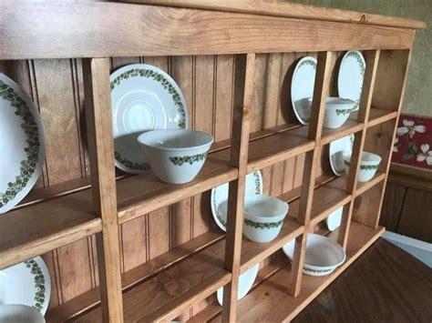 tea rack  saucer rack large wall hanging  counter sitting saucer  tea cup display