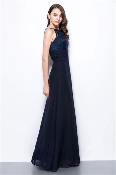 chic robe longue bleu marine 224 haut dentelle pour mariage