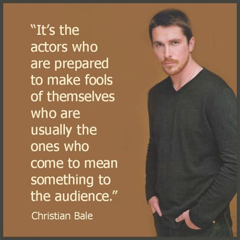 Movie Actor Quote Christian Bale Film