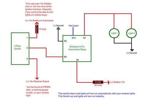 Aux Light Wiring Diagram 5 Wire Relay by Auxiliary Lights Tacoma World