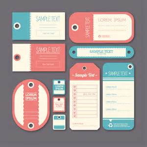 designer labels label design vector free vector graphic
