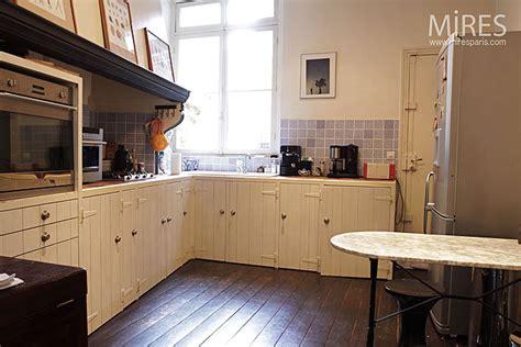 cuisine parquet cuisine noir parquet