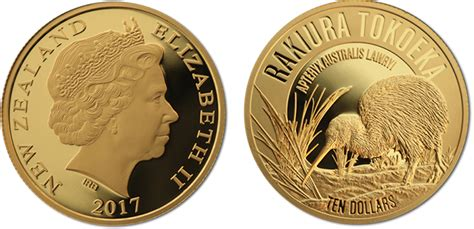 "2017-dated ""kiwi"" Gold And Silver Bullion"