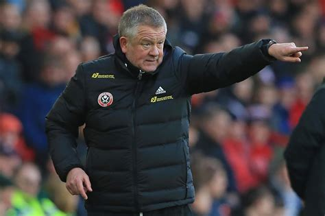 Sheffield United manager Chris Wilder goes on the attack ...