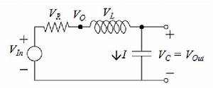sketch of simplified series rlc circuit input is dc step With uses of rlc circuit
