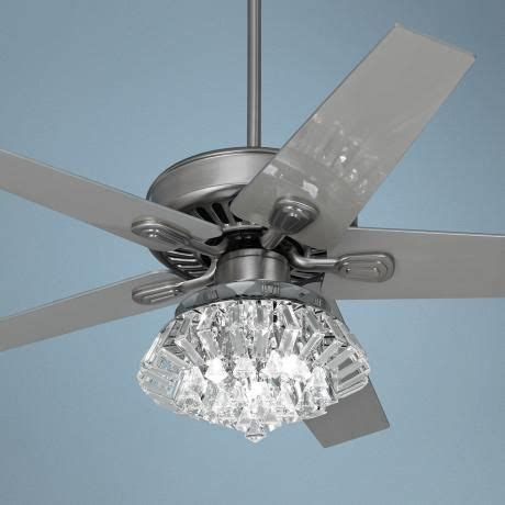 Crystal Chandelier Ceiling Fan Combo by 22 Best Images About Bling Ceiling Fans On Pinterest