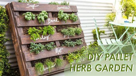 How To Make A Vertical Pallet Garden by Diy Pallet Herb Garden Home Design Redecorate Ideas