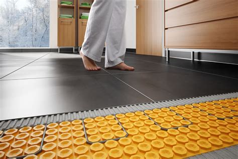 Schluter Heated Floor Kit by Schluter 174 Ditra Heat Floor Warming Schluter