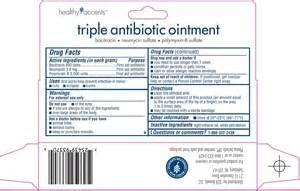 Triple Antibiotic Ointment Ingredients