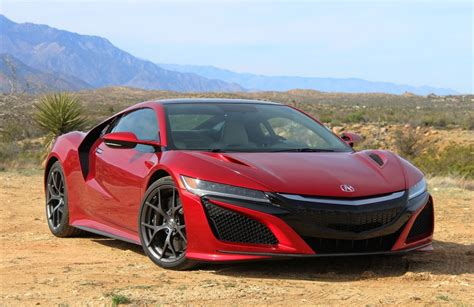 2017 acura nsx rolls off production line pictures specs
