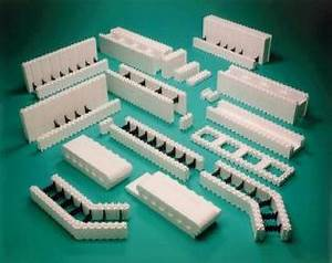 les blos de coffrage blocs de polystyrene ou blocs de With delightful maison en beton banche 4 maison passive isolation thermique en beton banche