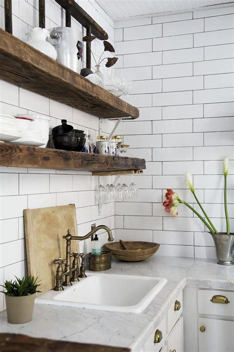 masculine office decor reclaimed wood kitchen shelves