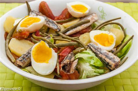 cuisine haricot blanc salade de pommes de terre aux oeufs brocolis et radis