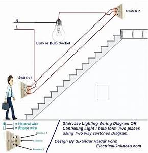 Lighting Wiring Diagram House