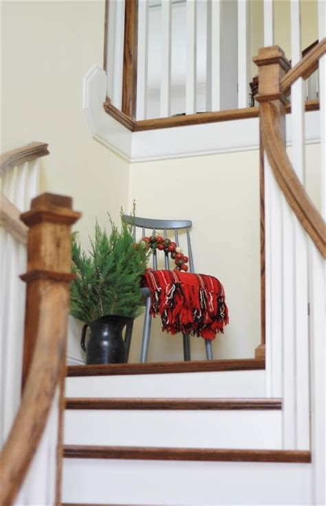 decorating ideas for staircase landing sweet vignette on stair landing