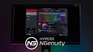 Hyperx Rgb  Macro  Y Software Para Configuraci U00f3n De Perfiles - Hyperx Ngenuity