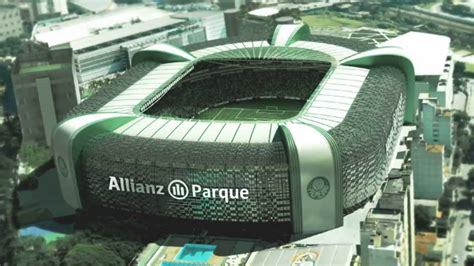 Allianz Parque - Arena Palmeiras - Maquete 3D - YouTube