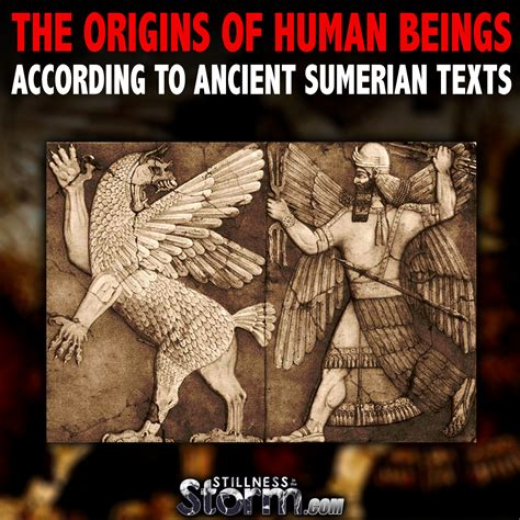 The Origins Of Human Beings According To Ancient Sumerian ...