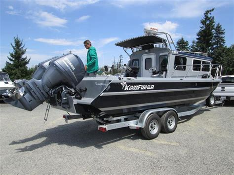 Kingfisher Boats Prince George by Kingfisher 2725 Weekender Welded Aluminum Pilot House
