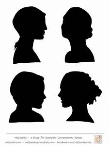 Woman S Face Silhouette - ClipArt Best