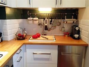 une petite cuisine qui a tout d39une grande scandinave With toute petite cuisine 2m2