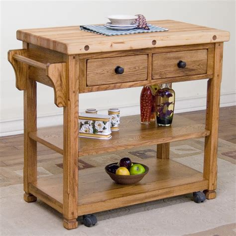kitchen islands with butcher block top designs sedona kitchen island with butcher block top