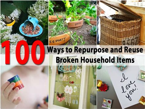 household craft ideas 100 ways to repurpose and reuse broken household items 2204