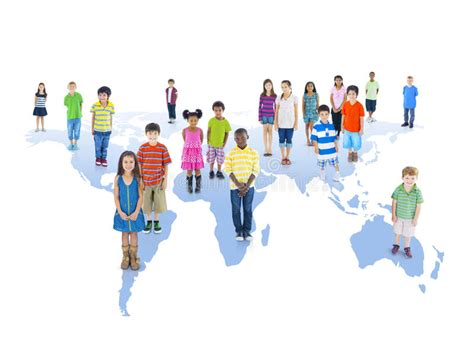 multiethnic group  children  global education