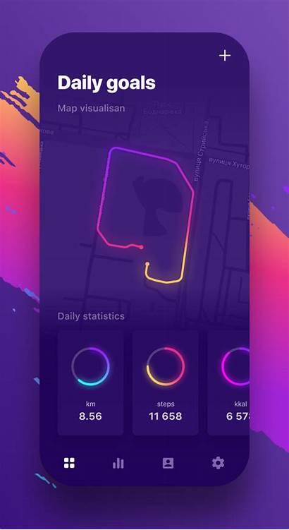 App Ui Mobile Ux Modern Amazing Run