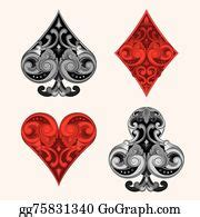 playing card clip art royalty  gograph