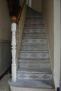 mes escaliers a pas de moineau les semi With nice peindre des escalier en bois 16 les escaliers avant apras