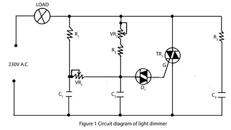 Light Dimmer Electronics Project
