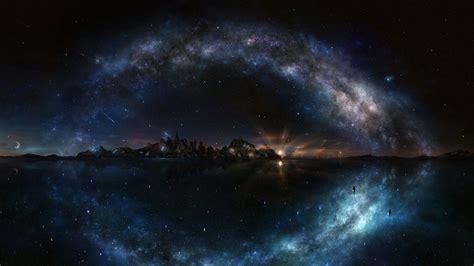 Rock City Enchanted Lights by 4k Night Sky Wallpaper Wallpapersafari
