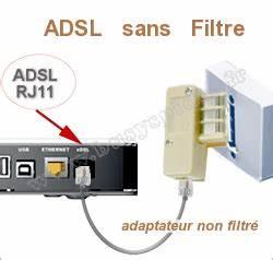Branchement Prise Telephone Adsl : cable rj11 et filtre free vetio17 ~ Melissatoandfro.com Idées de Décoration