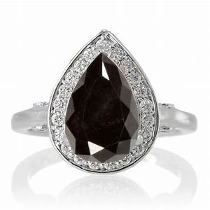 Black diamond wedding ring uk wedding o for Black wedding rings with diamonds