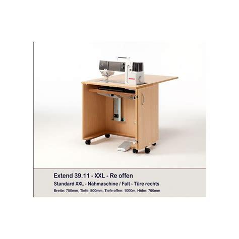 meuble rangement machine 224 coudre ou surjeteuse extend