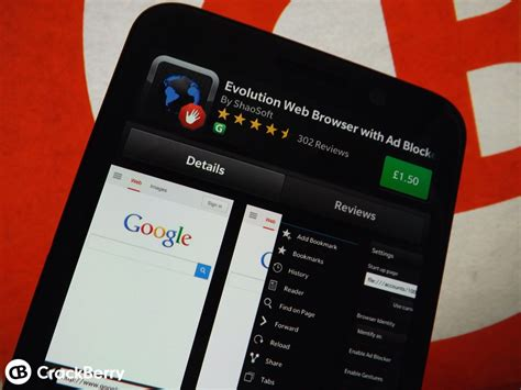 evolution browser for blackberry 10 gets updated and goes