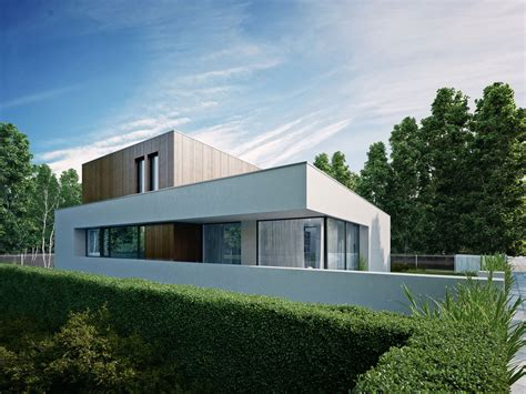 Wooden Cube House by 81.WAW.PL (9)