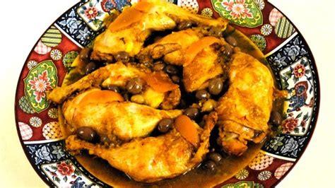 cuisine marocaine poulet aux olives recettes marocaines de poulet images