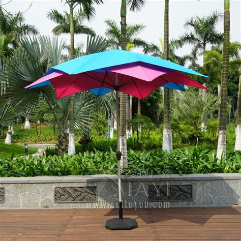 3 meter 10 ribs lotos patio umbrella garden parasol
