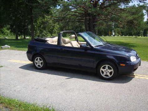 vehicle repair manual 1989 volkswagen type 2 seat position control buy used 1999 volkswagen cabrio gls convertible 2 door 2 0l in gansevoort new york united