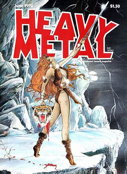 Heavy Metal Magazine Covers Comic Issue Vol
