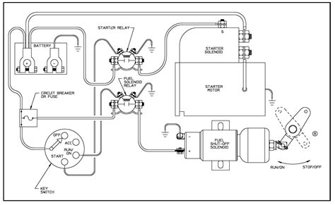 kubota fuel shut solenoid wiring diagram wiring diagram