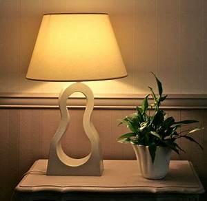 lampe de salon design en carton With meuble pour lampe de salon