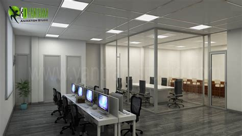 Modern & Creative 3d Commercial Office Design View