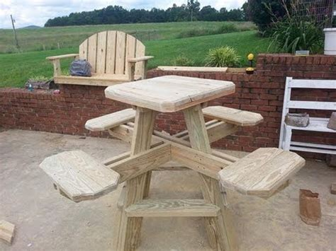 bar stool picnic table build part  youtube