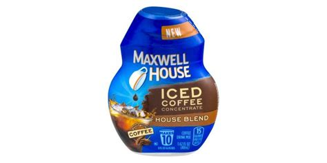Too bad maxwell house discontinued it. Maxwell House Iced Coffee Concentrate House Blend Reviews 2019
