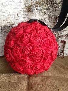 Boule En Papier Crepon : boule de rose papier crepon projets essayer pinterest ~ Dode.kayakingforconservation.com Idées de Décoration
