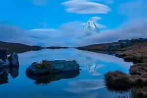 Nature, Landscape, Water, Clouds, Switzerland, Mountain