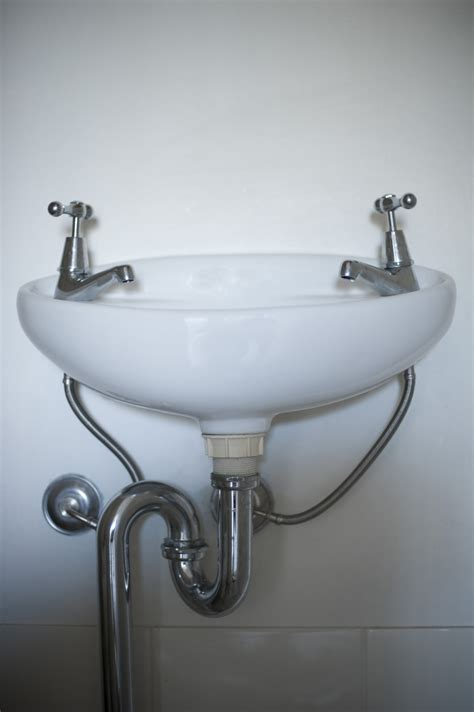 image  simple ceramic white hand basin freebiephotography